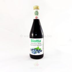 JUGO DE MIRTILOS NEGROS BIOTTA 500 ML. (A.VOGEL)