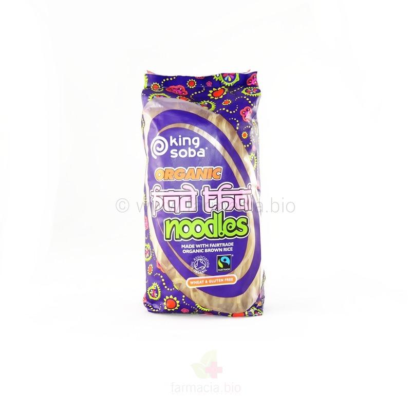 Fideos Pad Thai de arroz integral BIO 250 g