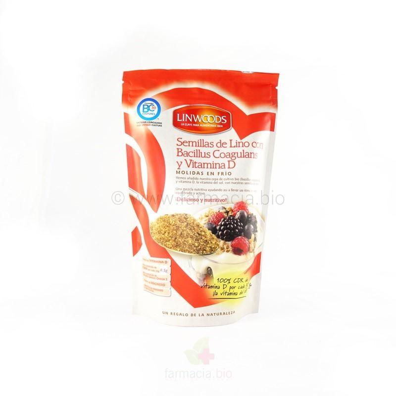 Semillas de Lino ECO con probiótico y vitamina D 200 g