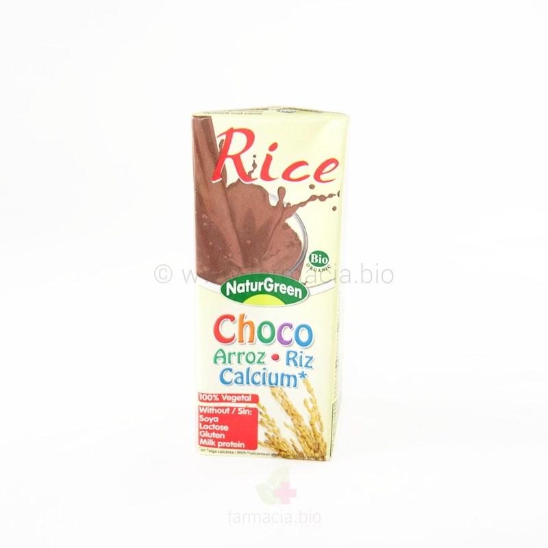 Choco arroz BIO de 200 ml