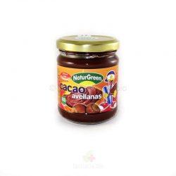 Crema de cacao con avellana BIO 200 g