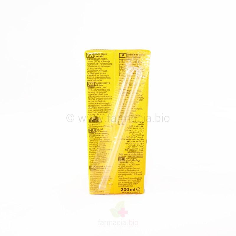Oat calcium avena BIO 200 ml