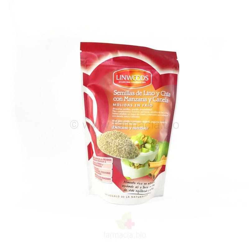 Semillas de lino eco con chia, manzana y canela 200 G