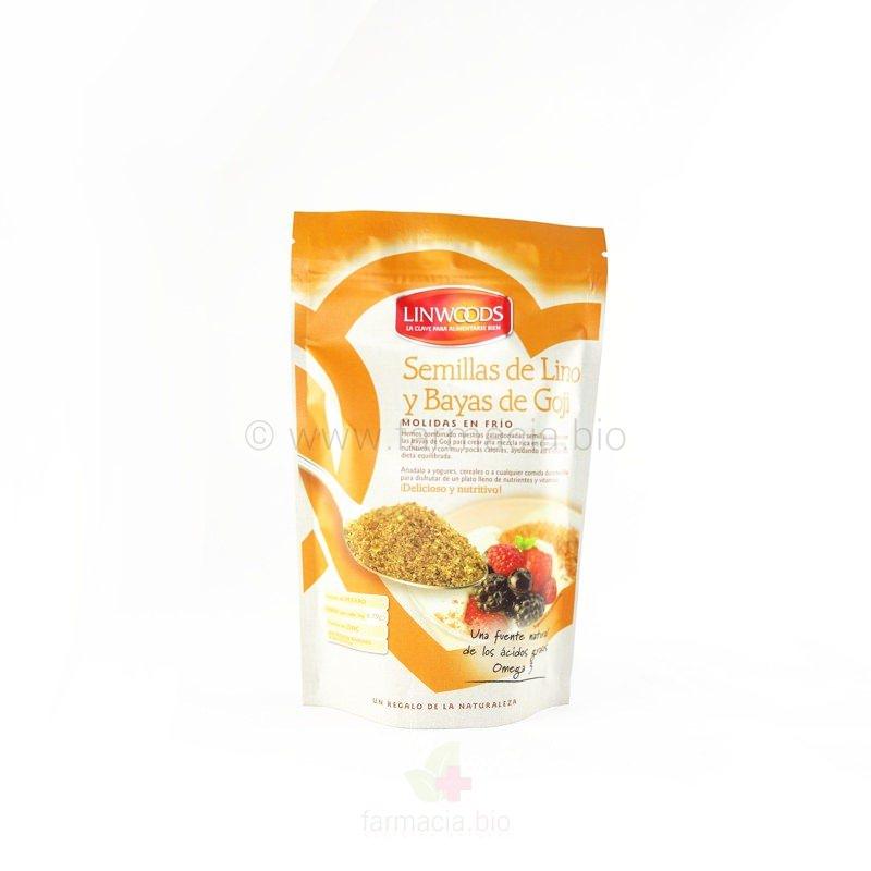Semillas de lino ECO y goji 200 g