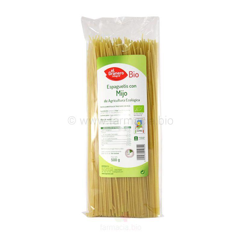 Espaguetis con mijo BIO 500 g