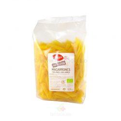 Macarrones de maíz y arroz sin gluten BIO 500 g