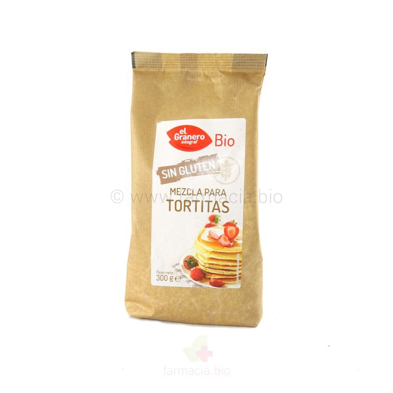 Mezcla para tortitas sin gluten BIO 300 g