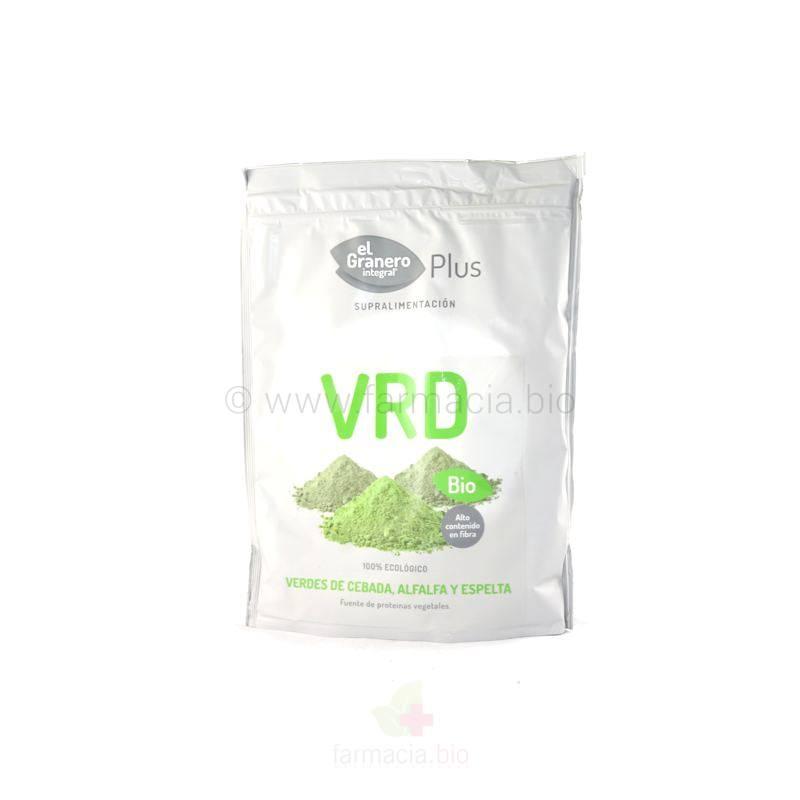 Verdes de espelta, cebada y alfalfa BIO 200 g