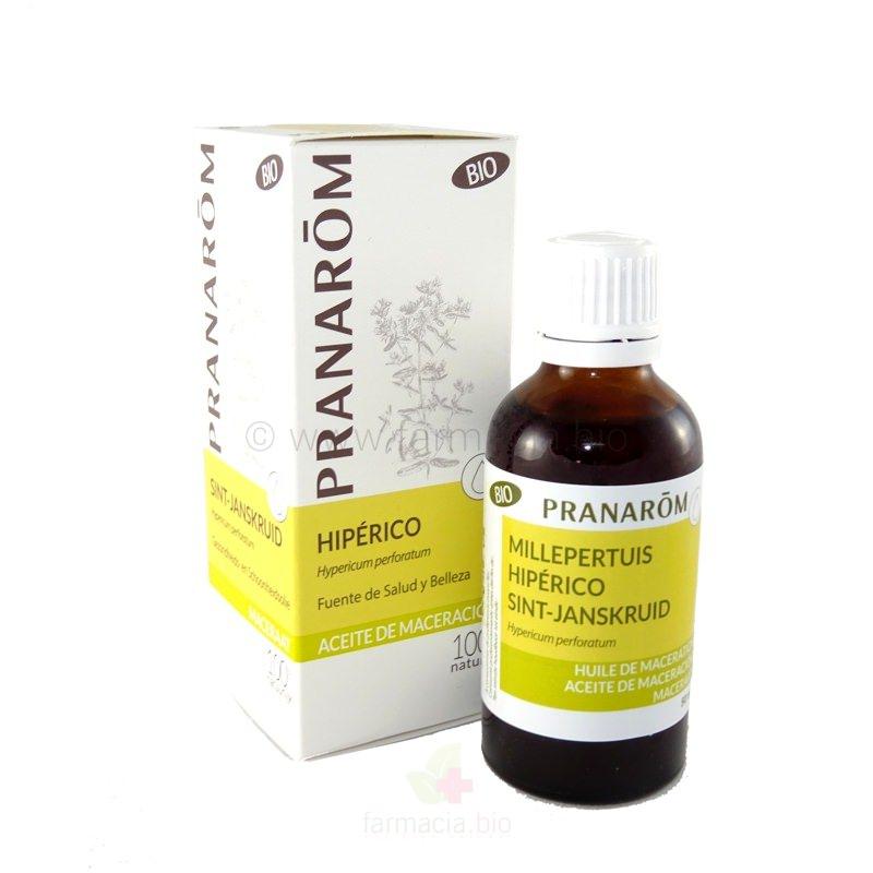 Pranarôm aceite vegetal hipérico BIO 50 ml