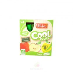 VITABIO COOL FRUITS MANZANA BIO 4 X 90 GR.