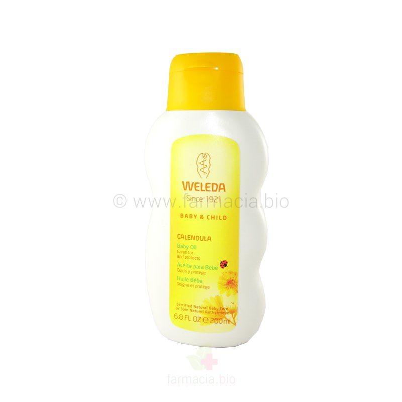 Aceite de caléndula para bebé 200 ml