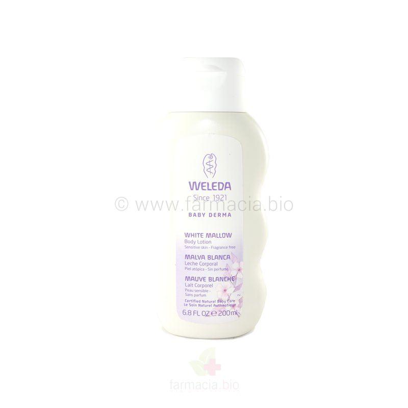 Leche corporal malva blanca 200 ml