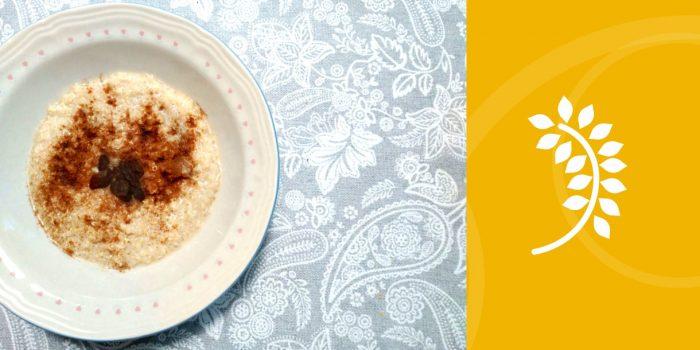 Quinoa con leche de Almendras