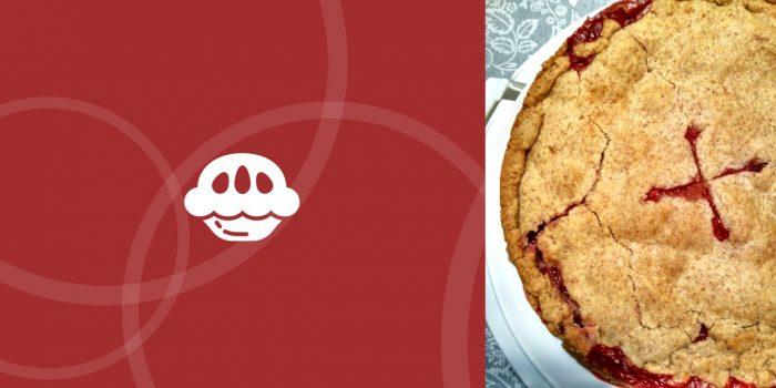 Tarta americana de fresa y coco BIO