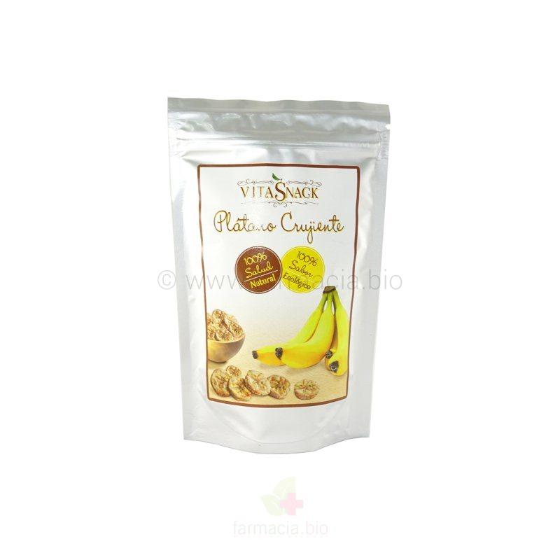 Snack plátano crujiente BIO ECO sin gluten 24 g