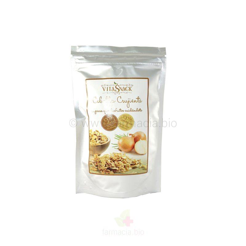 Snack cebolla crujiente BIO ECO sin gluten 24 g