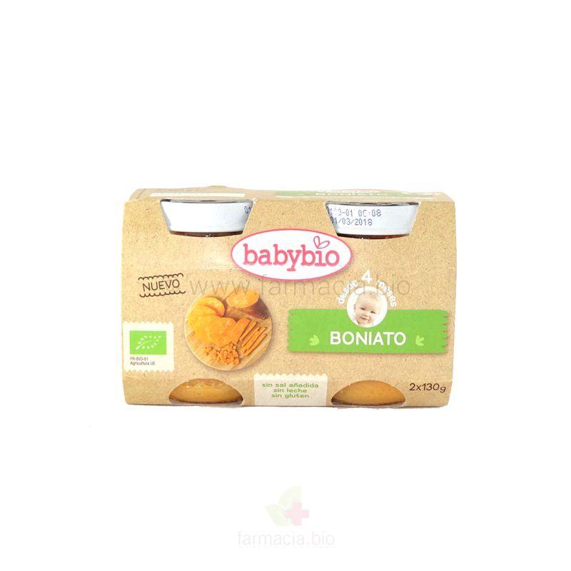 Boniato 2x130 g Babybio
