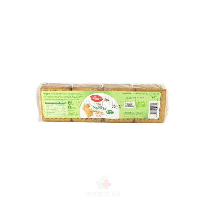Galletas maltitas BIO 150 g