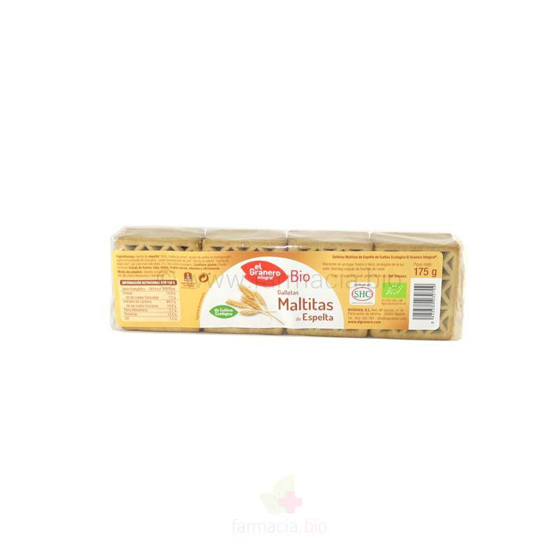 Galletas maltitas de espelta BIO 175 g