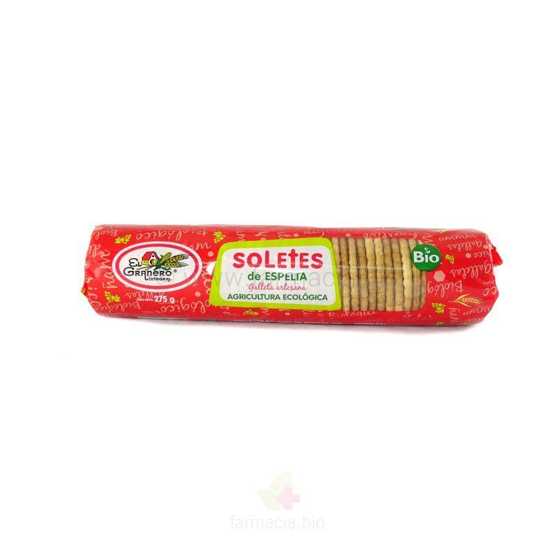 Galletas solete de espelta BIO 275 g