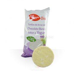 Tortitas de arroz chocolate sabor yogur BIO 6u (El Granero Integral)
