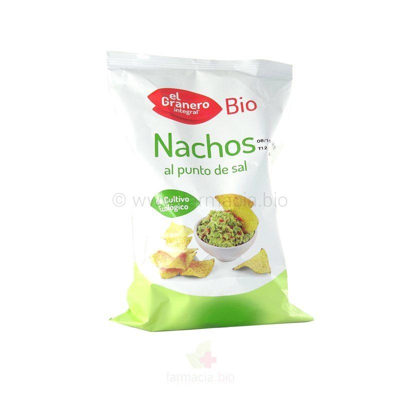 Nachos al punto de sal BIO 125 g
