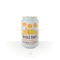 Refresco lata Naranja Limón BIO 330 ml