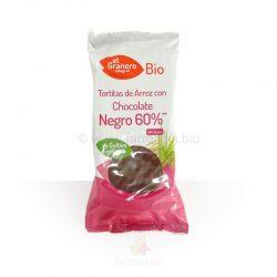 Tortitas de arroz chocolate negro BIO 6u (El Granero Integral)