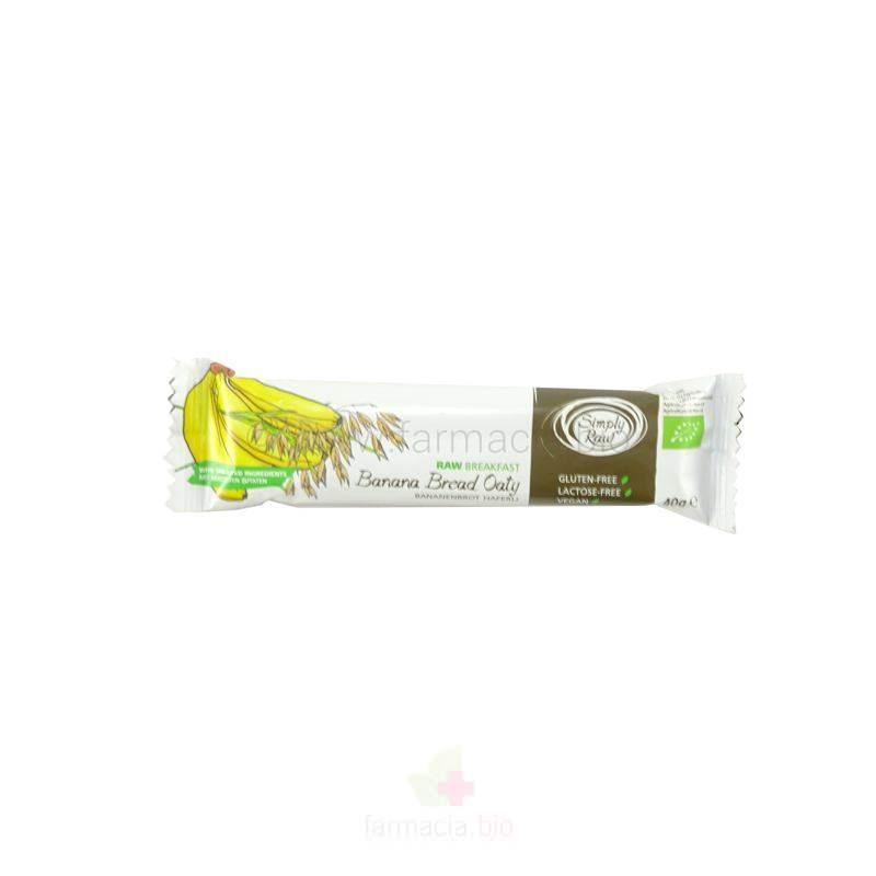 Barrita raw avena germinada plátano ECO 40 g