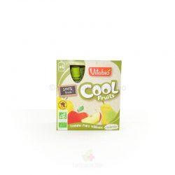 Cool fruits manzana y pera BIO 4x90g (Vitabio)