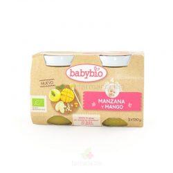 Manzana y mango BIO 2 x 130 gramos (Babybio)