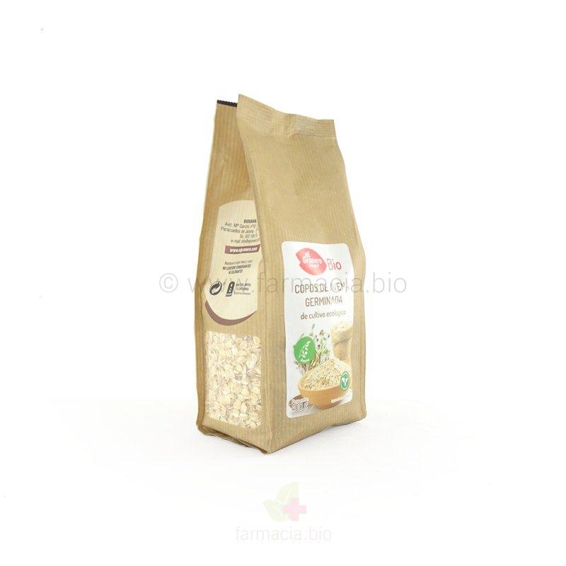 Copos de avena germinada bio 400 gramos de el granero integral - Copos de avena bruggen ...