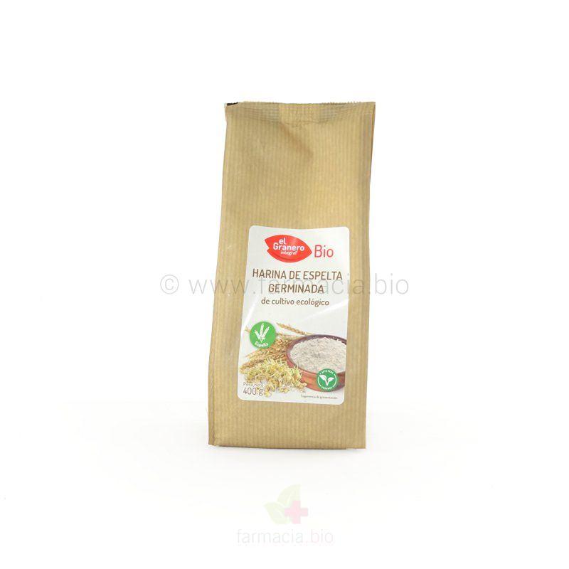Harina de espelta germinada BIO 400 g