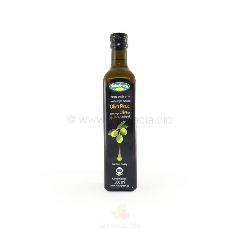 Aceite de oliva picual virgen extra BIO 500 ml