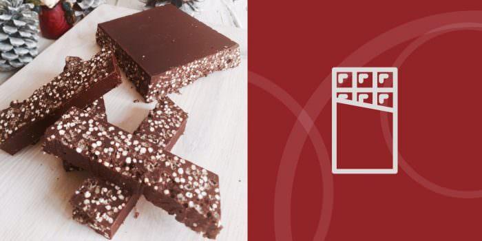 Turrón de chocolate y BIO