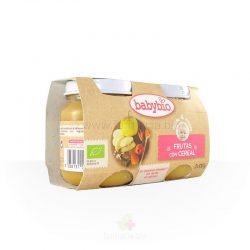 Frutas con cereales BIO 2 x 130 g
