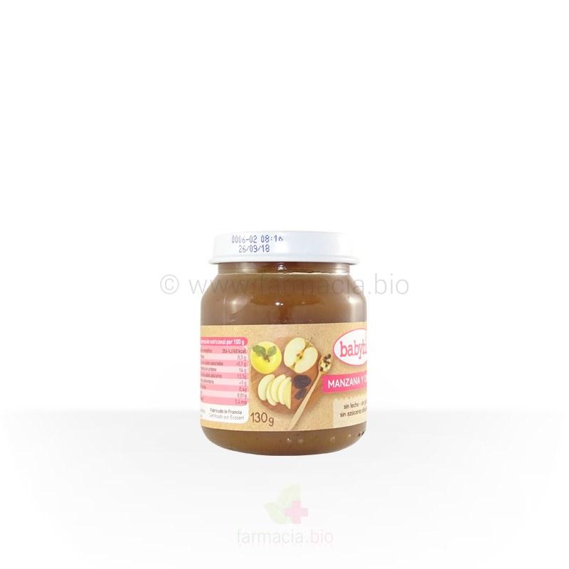 Manzana y ciruela BIO 130 g