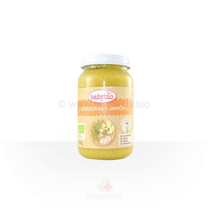 Menú verduras y jamón BIO 200 g