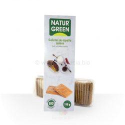 Galleta espelta quinoa BIO 190 gramos (Naturgreen)