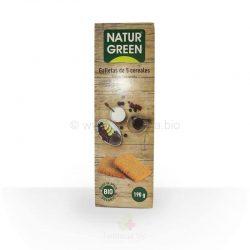 Galletas 5 cereales BIO 190 gramos (Naturgreen)