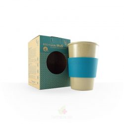 Vaso infantil ecofriendly con antideslizante fibra de arroz (The Dida World)