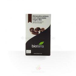 Almendra con chocolate negro BIO 100 gramos (Bioterra)