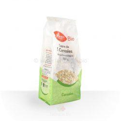 Copos de 5 cereales BIO 500 g