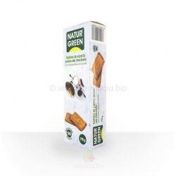 Galleta espelta quinoa choco BIO 190 g