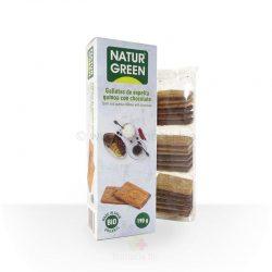 Galleta espelta quinoa choco BIO 190 gramos (Naturgreen)