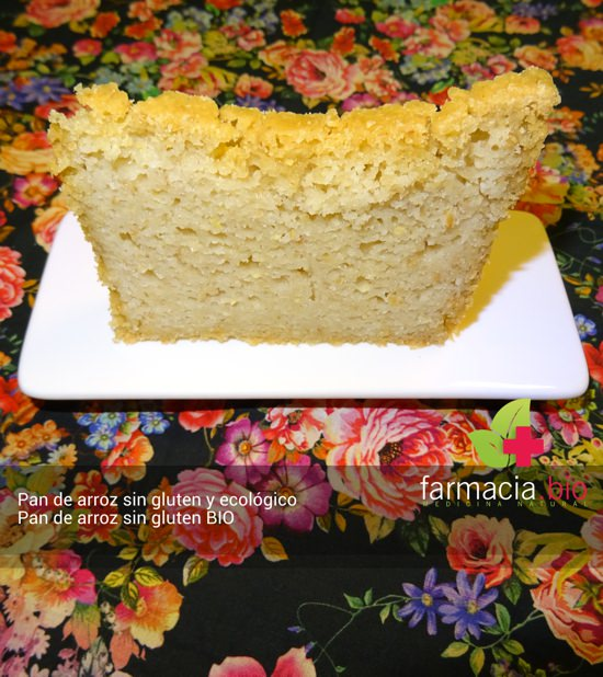 Pan de arroz ecológico