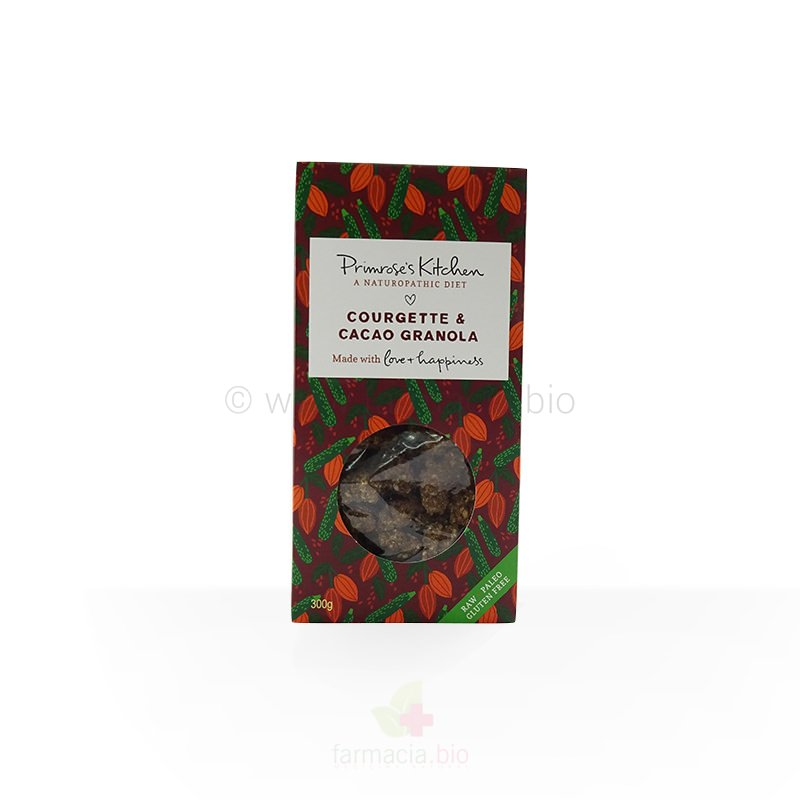 Granola ECO calabacín y cacao sin gluten 300 g