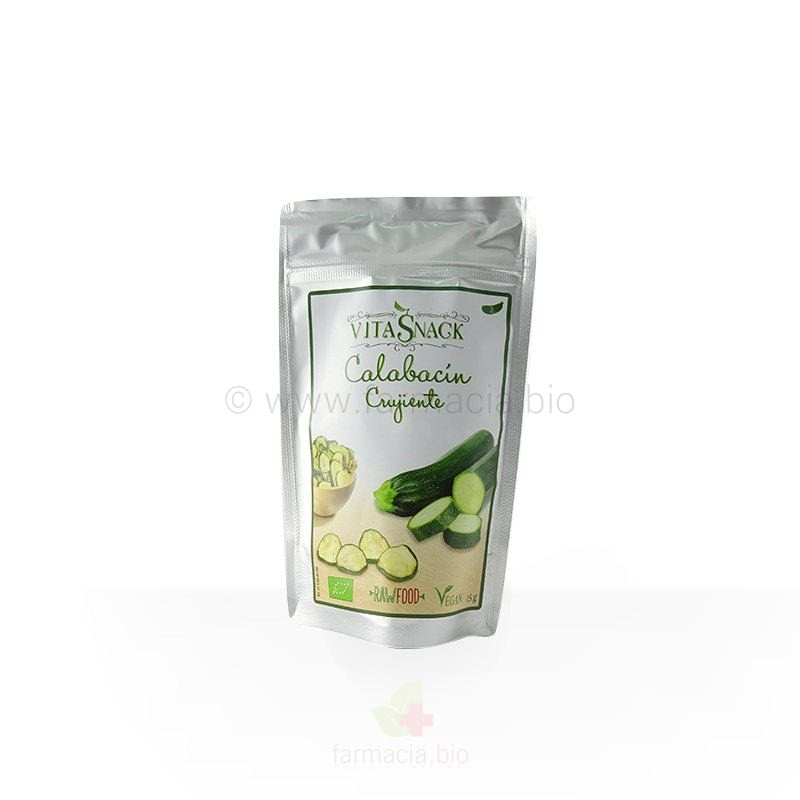 Calabacín crujiente BIO ECO sin gluten, sal ni azúcar 15 g