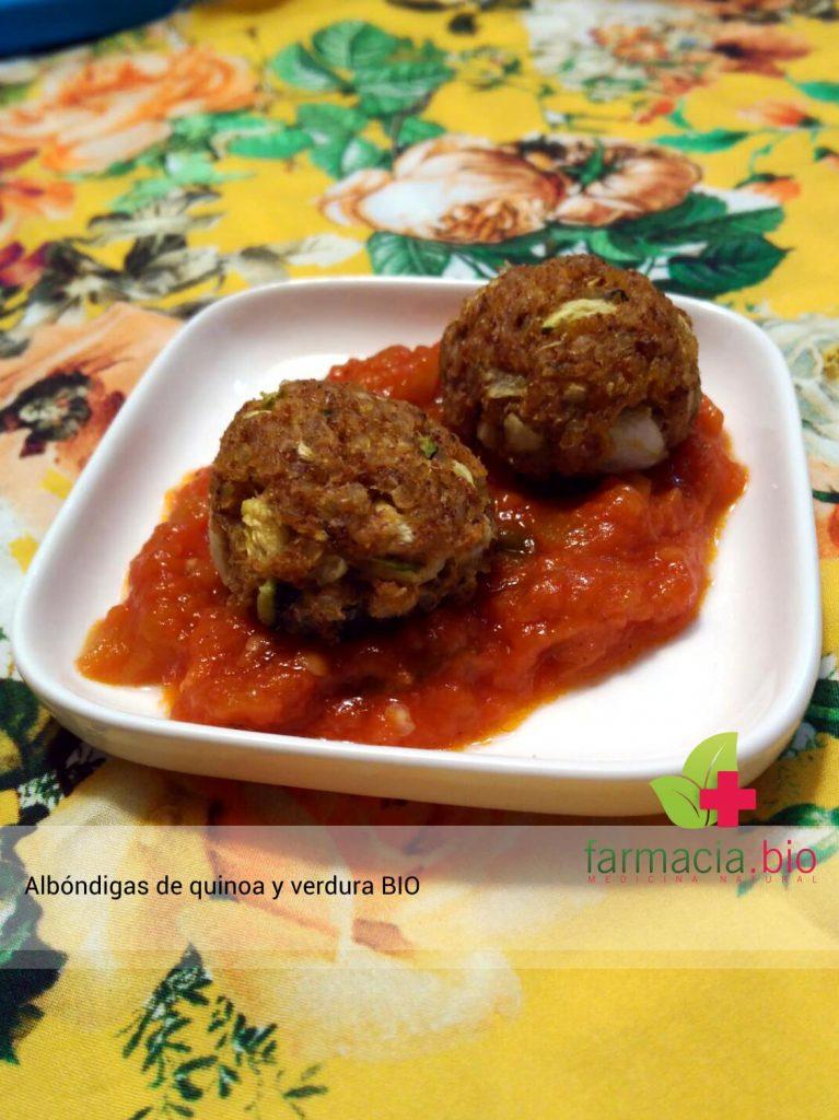Albondigas con quinoa teff y semillas de lino ricas y for Albondigas de verduras