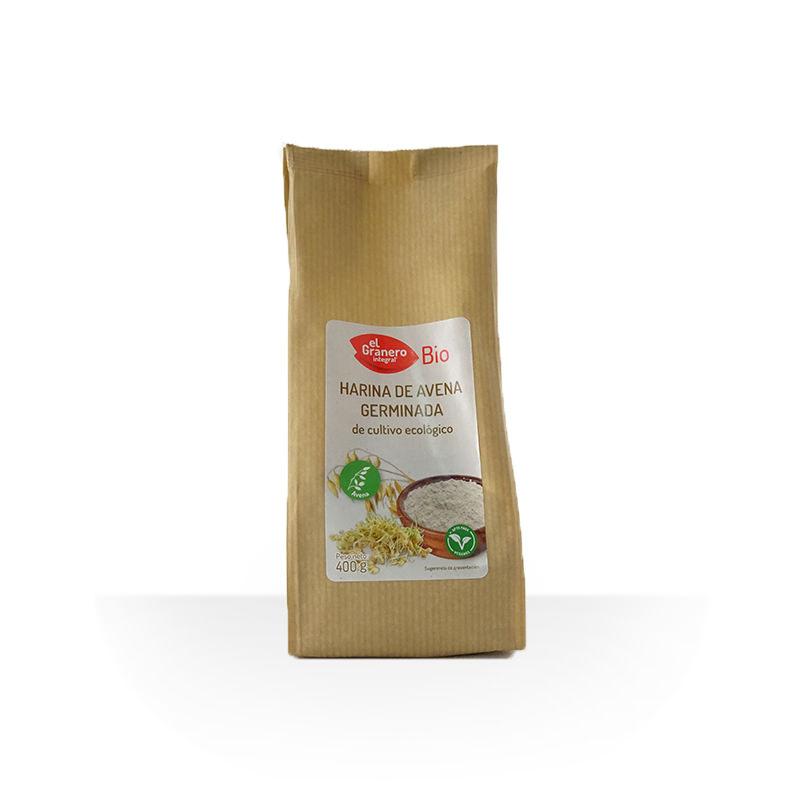 Harina de avena germinada BIO 400 g